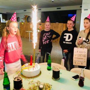 Tanečnice Adélka oslavila své kulatiny